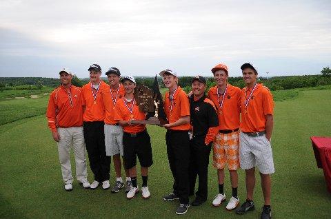 2013 Boys Golf Coaches Association of Wisconsin Coaches Poll Top 10